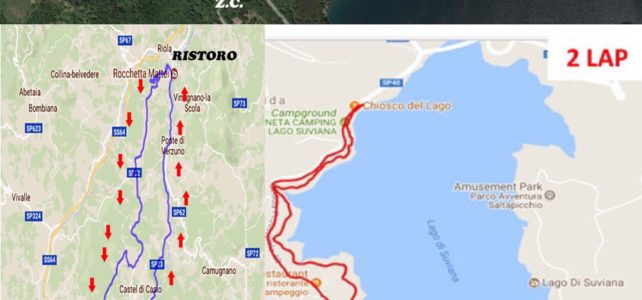 Percorsi Suviana Lake Triathlon